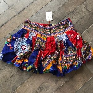 NWT Raga Mini Skirt
